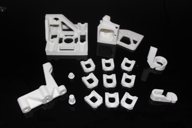 3D printed printer parts